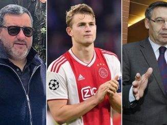 Why is Super Agent Mino Raiola delaying the move of Matthijs De Ligt to Barcelona